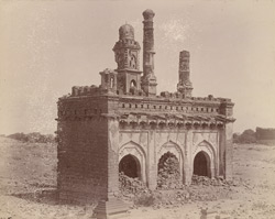General view of Ikhlas Khan's Mosque, Bijapur